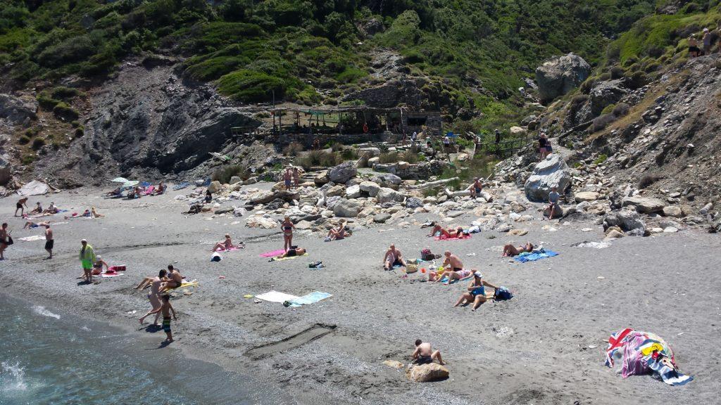 grecja skiathos opalanie wakacje